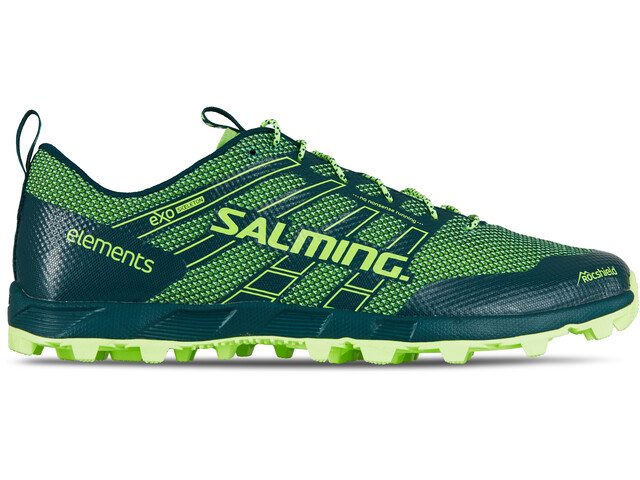 Salming M's Elements 2 Shoes Deep Teal/Sharp Green